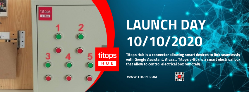 Titops Hub - Titops Box Launch
