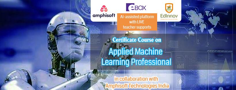 EdInnov Applied Machine Learning Certificate